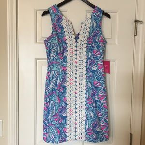 Lilly Pulitzer for Target My Fans Shift Dress NWT